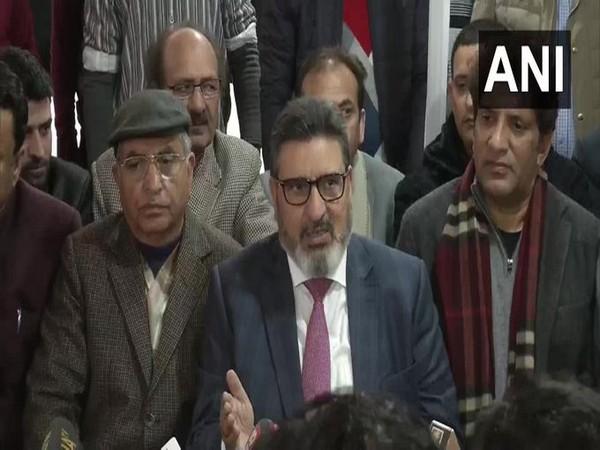 Former Jammu and Kashmir minister Syed Altaf Bukhari (File photo)