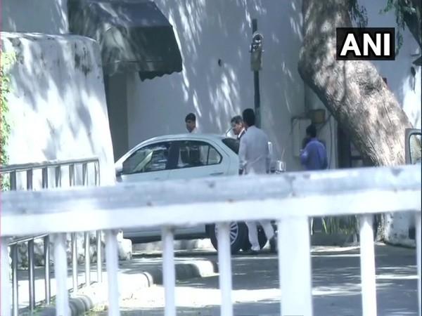 Congress General Secretary KC Venugopal arrives at 10 Janpath to meet party president Sonia Gandhi