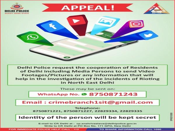 Delhi Police's appeal