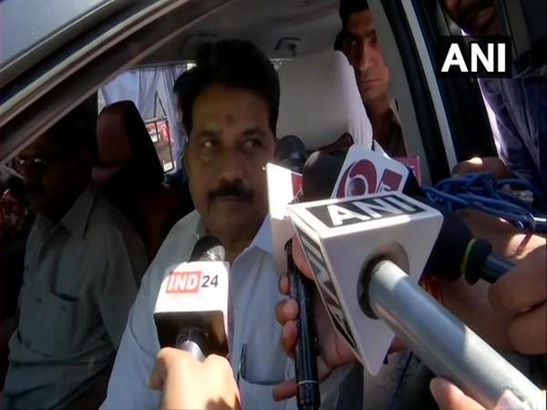 Madhya Pradesh Home Minister Bala Bachchan speaking to reporters on Wednesday. Photo/ANI