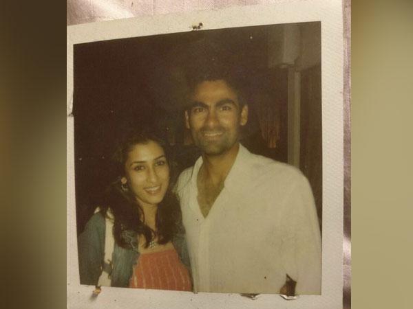 Mohammad Kaif with wife Pooja (Photo/ Mohammad Kaif Twitter)