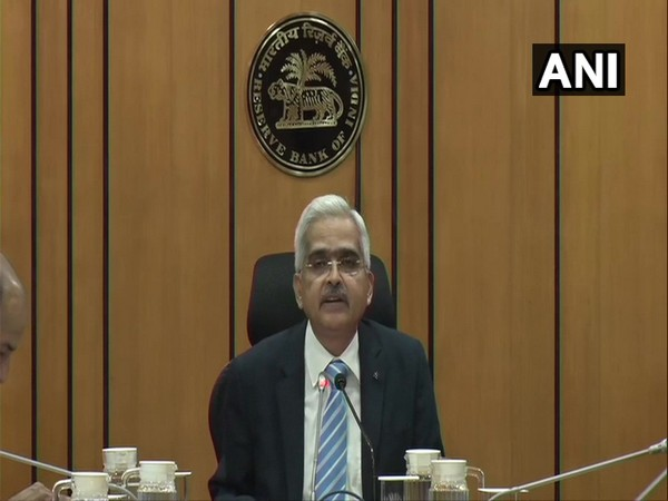 Reserve Bank of India Governor Shaktikanta Das during a press conference in Mumbai on Monday.