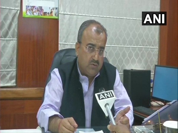 Bihar Health Minister Mangal Pandey while speaking to ANI in Patna on Thursday. Photo/ANI