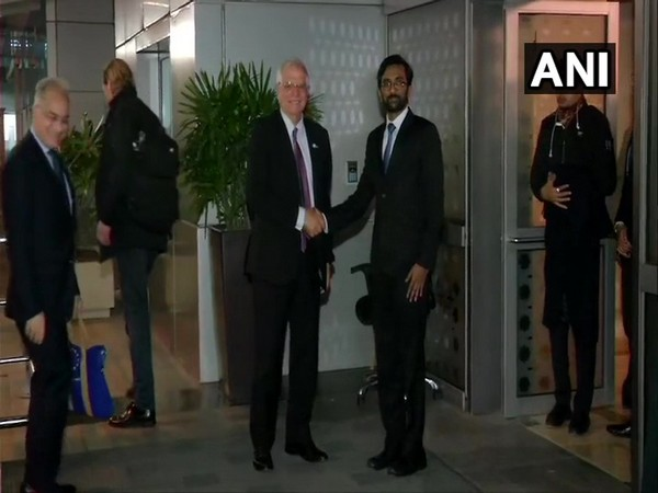 Josep Borrell Fontelles, High Representative of the European Union for Foreign Affairs and Security Policy arrives in India.