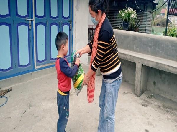 Ration distribution underway in North Sikkim district