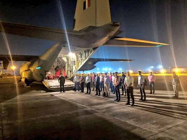 The rapid response team has been deputed at the request of the Kuwait government