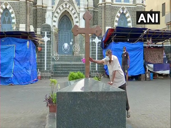A visual from 'Basilica Of Our Lady of The Mount' in Maharashtra. Photo/ANI