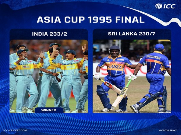 India beat Sri Lanka to win their fourth Asia Cup title (Photo/ ICC Twitter)