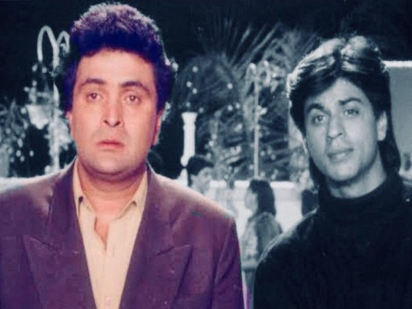 Actors Rishi Kapoor and Shah Rukh Khan (Image source: Twitter)