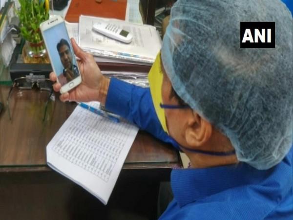 Online interviews temporary vacancies for nurses under Northern Railway (Moradabad) were held via video conferencing on Thursday (Photo/ANI)