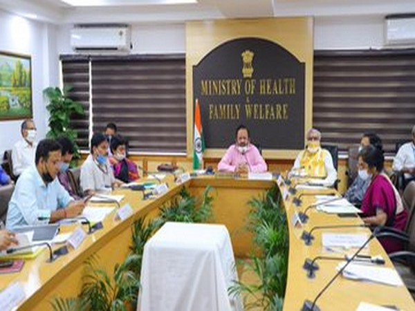 Union Minister of Health Dr Harsh Vardhan on Friday held a meeting with the Health Minister of Bihar on Friday.