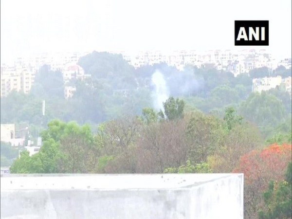 The fire that broke out in the forge and foundry division of HAL  on Wednesday, has been doused. Photo/ANI