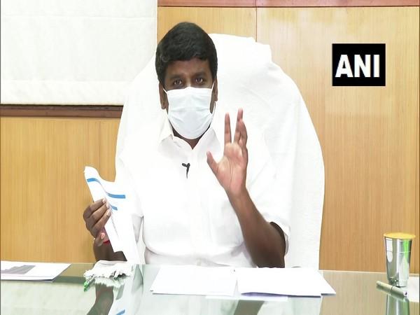 Tamil Nadu Health Minister C Vijayabaskar