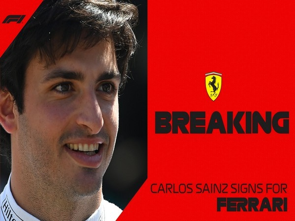 Carlos Sainz (Photo/ Formula 1 Twitter)