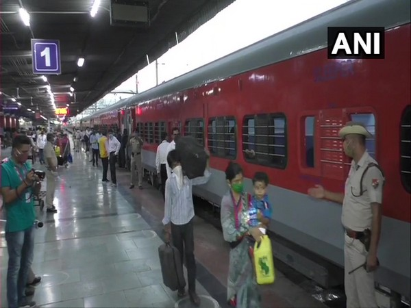 Visual from the railway station (Photo/ANI)