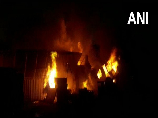 Fire breaks out at a factory in Nashik