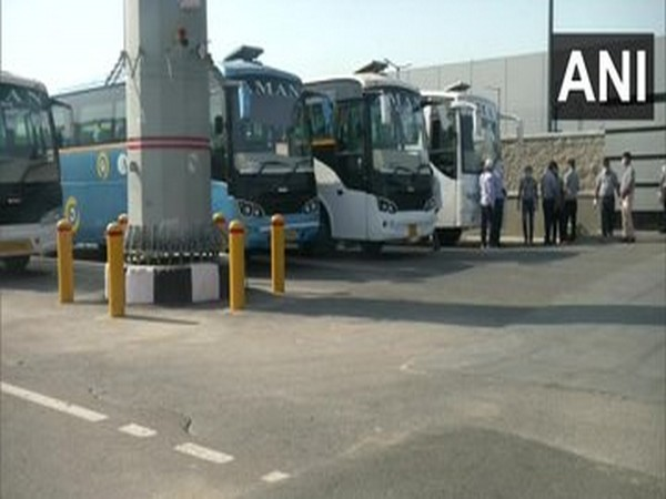 Work resumes in Samsung mobile factory in Noida.