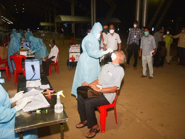 Passengers were screened following arrival and were taken to quarantine centres.
