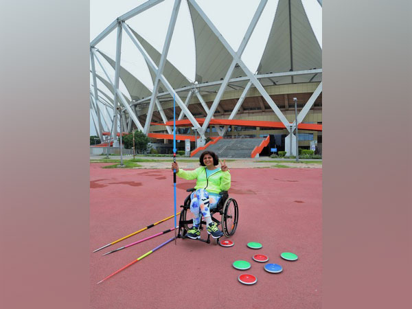 Para-athlete Deepa Malik (Photo/ Deepa Malik Twitter)