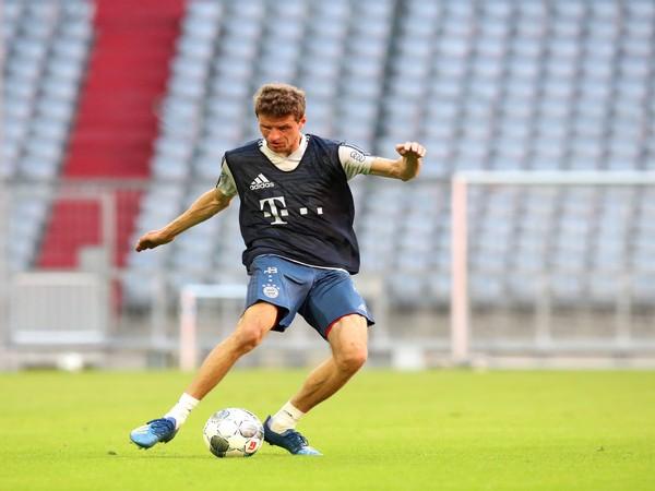 Bayern Munich's Thomas Muller (Photo/ Thomas Muller Twitter)