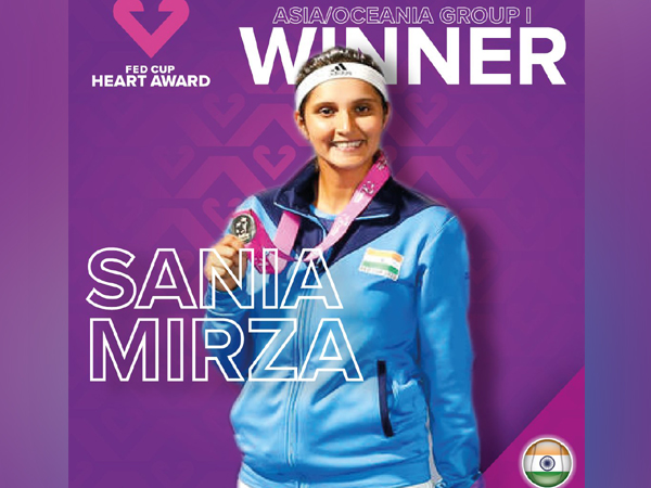 Indian tennis player Sania Mirza (Photo/ Fed Cup Twitter)