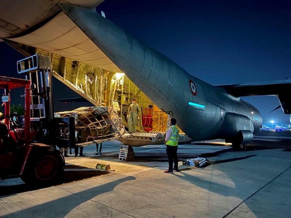 A total of 703 tonnes of the load has been airlifted since the time IAF began its operations to assist the government on March 25.