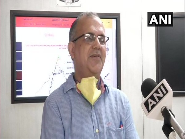 Dr Naresh Kumar, Scientist, IMD while speaking to ANI in New Delhi on Tuesday [Photo/ANI]