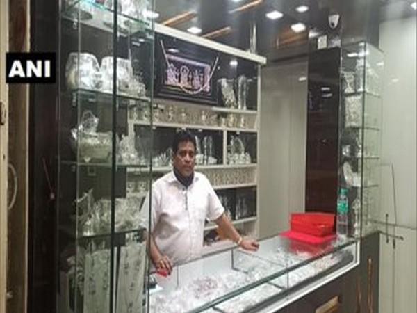 Visual from a jewellery shop in Hubli, Karnataka (Photo/ANI)
