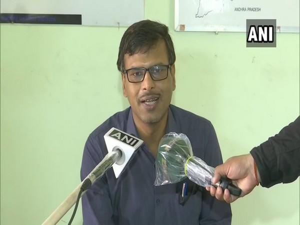 HR Biswas, Director of IMD Bhubaneswar  speaks to media on Sunday. [Photo/ANI]