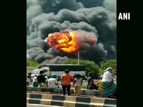 Fire breaks out at chemical factory in Pune.