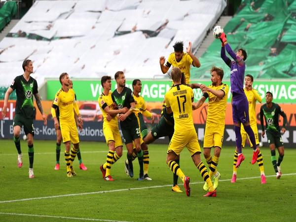 Borussia Dortmund secured a 2-0 win over Wolfsburg on Saturday. (Photo/ Borussia Dortmund Twitter)