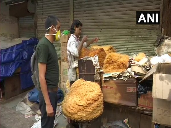 A shop in Delhi's Jama Masjid area. (Photo/ANI)