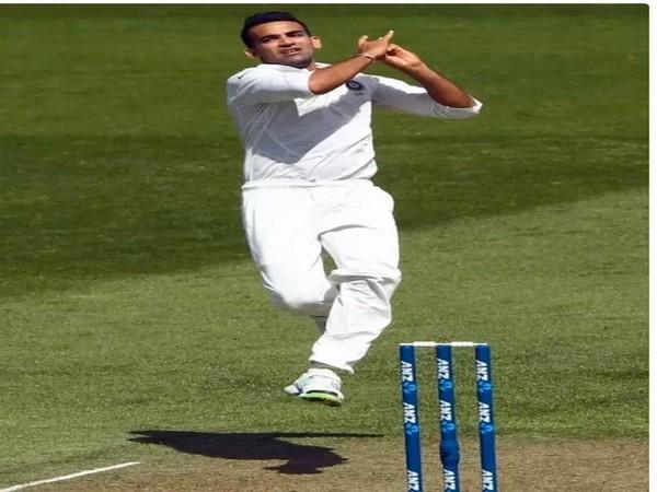 Former India pacer Zaheer Khan (Photo/ VVS Laxman Twitter)