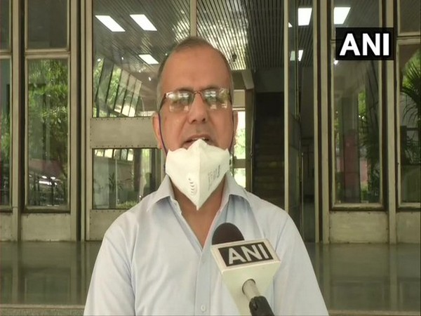 Naresh Kumar, Sr scientist, IMD speaks to ANI [Photo/ANI]
