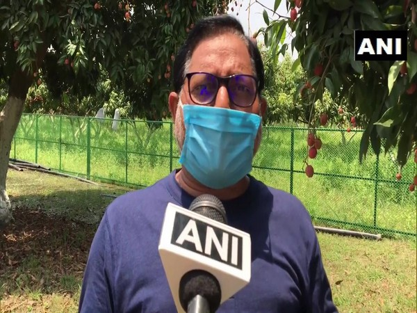 Dr Vishal Nath, Director of  National Research Centre on Litchi, speaking to ANI on Wednesday. Photo/ANI