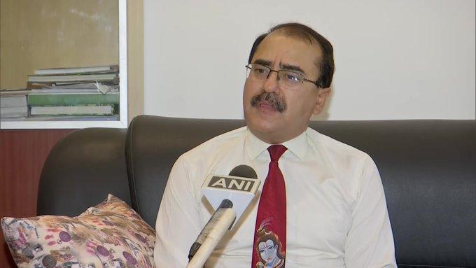 Principal Chief Conservator of Forest, Jai Raj speaks to ANI in Dehradun on Thursday. [Photo/ANI]