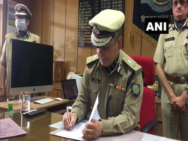 IPS officer Sanjay Kundu takes charge as Himachal Pradesh DGP.