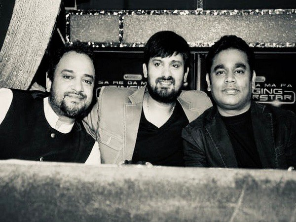 Sajid Khan, Wajid Khan and A.R. Rahman (Image courtesy: Twitter)