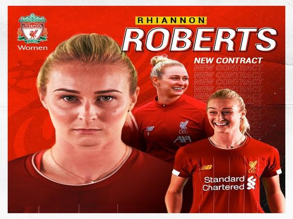 Rhiannon Roberts (Photo/s Liverpool Women Twitter)