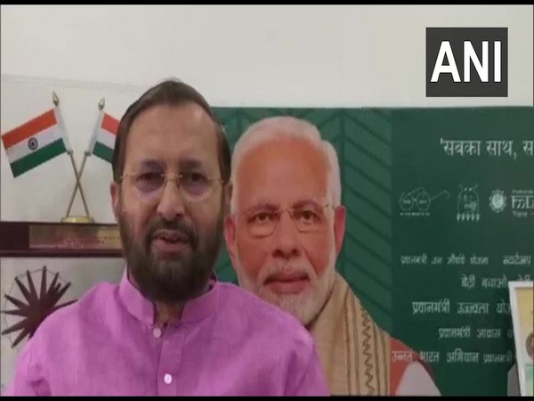 Minister of Environment, Forest and Climate Change Prakash Javadekar speaking to ANI on Thursday. [Photo/ANI]