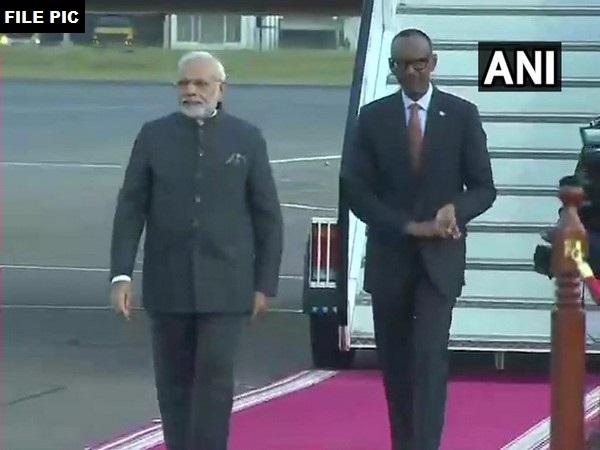 Prime Minister Narendra Modi and Rwanda President Paul Kagame