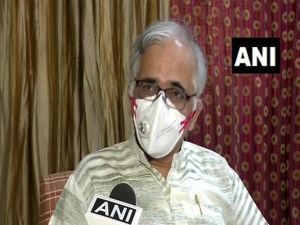 Shekhar Mande,DG Council of Scientific and Industrial Research while speaking to ANI (Photo/ANI)