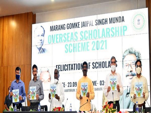 Jharkhand Government's Marang Gomke Jaipal Singh Munda Overseas Scholarship Scheme aims to help tribal communities pursue higher education abroad. (Photo/ANI)