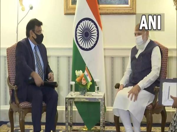 PM Modi meets General Atomic CEO in Washington