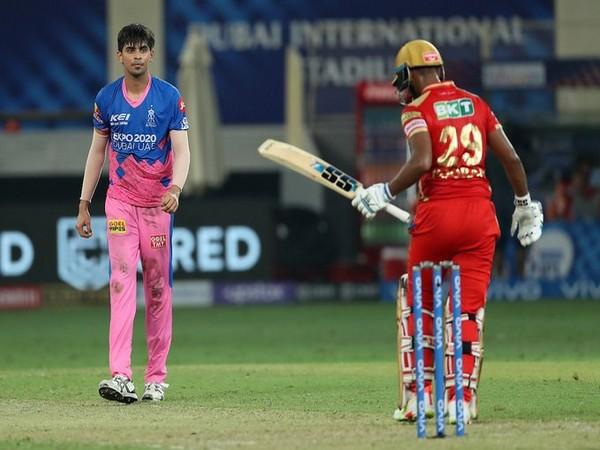 Kartik Tyagi in action (Photo/ IPL Twitter)