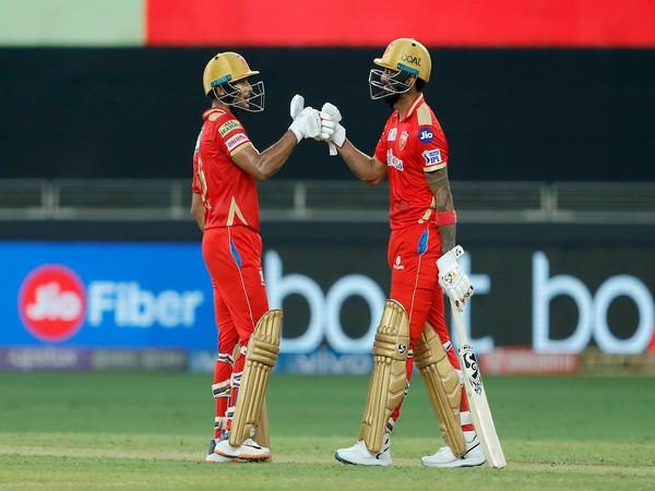 Mayank Agarwal and KL Rahul (Photo: Twitter/IPL)