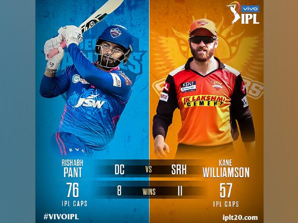Rishabh Pant and Kane Williamson (Photo: Twitter/IPL)
