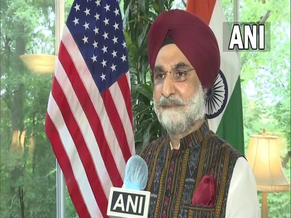 India's ambassador to the United States, Taranjit Singh Sandhu