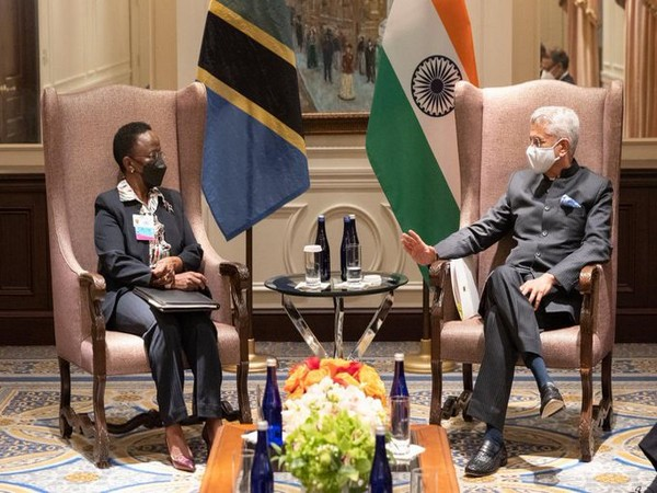 External Affairs Minister S Jaishankar held a meeting with his Tanzanian counterpart Liberata Mulamula