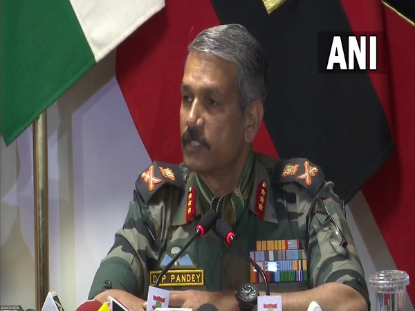 Lieutenant General DP Pandey. (Photo/ANI)